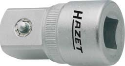Adapter 1/2I. 3/4A. Hazet
