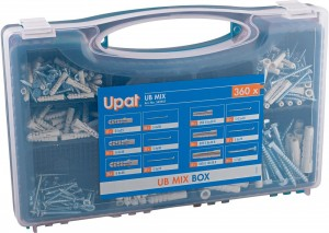 Box Mix Upat Ultra + UVDII + wkrety